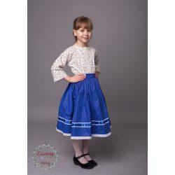 Kékfestő szoknya - Pöttyös