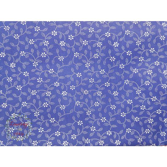 Kékfestő szoknya - Virágos