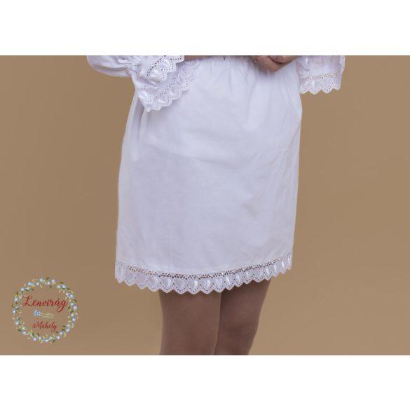 Felnőtt pendely - fehér